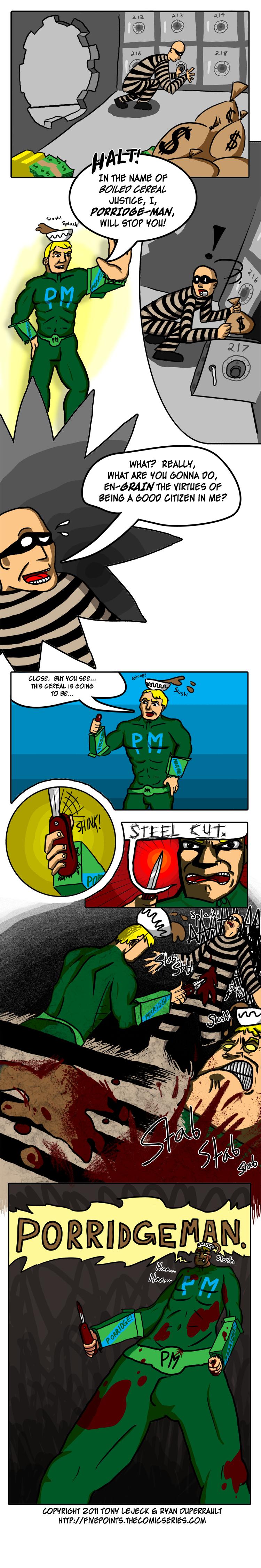 PORRIDGE-MAN
